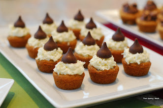 Photo: Jocelyn made these cute cookie cups topped with coconut and Hershey's Kisses.