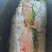 Spicy Crawfish Riceball