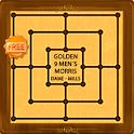 GOLDEN NINE MEN'S MORRIS - MÜHLE - MILL (FREE) icon