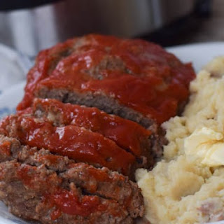 Instant Pot Meatloaf and Mashed Potatoes Recipe