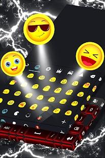Matte Red Keyboard Téma - náhled