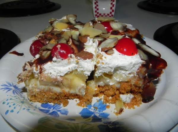 Banana Split Dessert Recipe