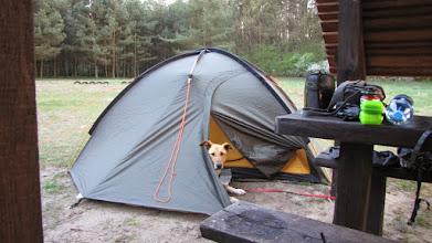 Photo: Pole namiotowe w Roztoce