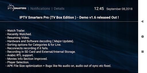 IPTV Smarters Pro 1.6.9 screenshots 4
