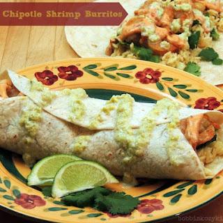 Crispy Chipotle Shrimp Burritos.