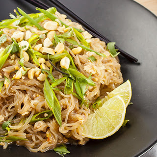 Shirataki Pad Thai [Vegan]