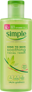 Simple Kind to Skin Soothing Facial Toner - Multi-Vitamin, 200ml