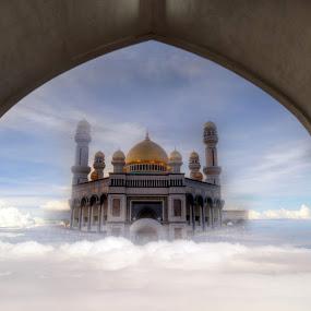 by Mohamad Sa'at Haji Mokim - Digital Art Abstract