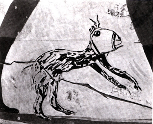 Coptic Graffito, Tomb of Userhat: