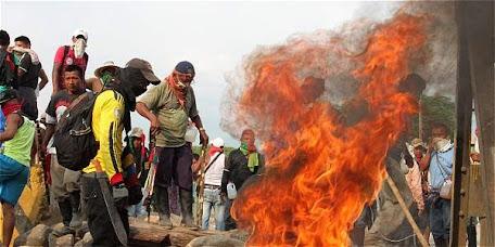 Comunicado a la opinión publica en apoyo a los hermanos indígenas del norte del Cauca quienes ejercen la liberación de la madre tierra.