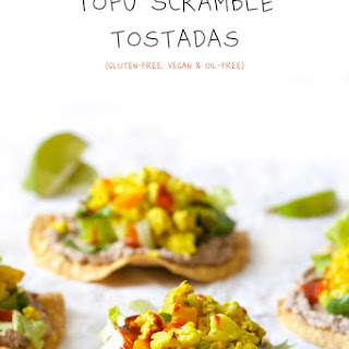 Tofu Scramble Tostadas.