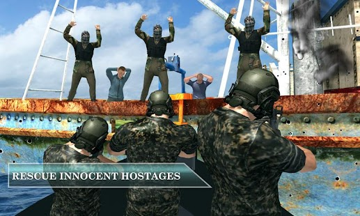Pirate Ship Vs Naval Fleet Stealth Rescue Mission- screenshot thumbnail
