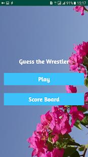 Guess the Wrestler - náhled