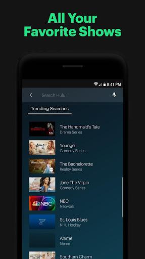 Hulu screenshot 2