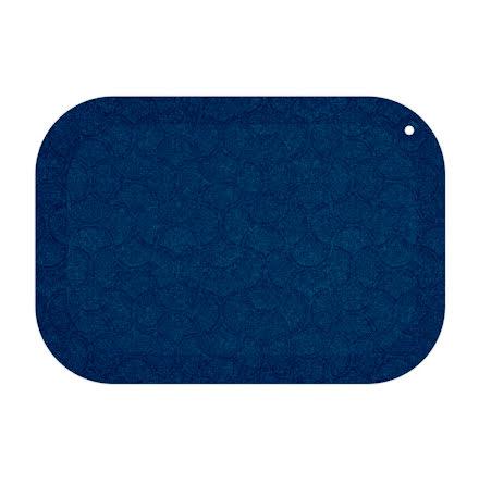 Matta standup 53x77cm blå