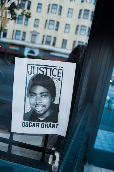 Photo: Oscar Grant protest by Joe Sciarrillo
