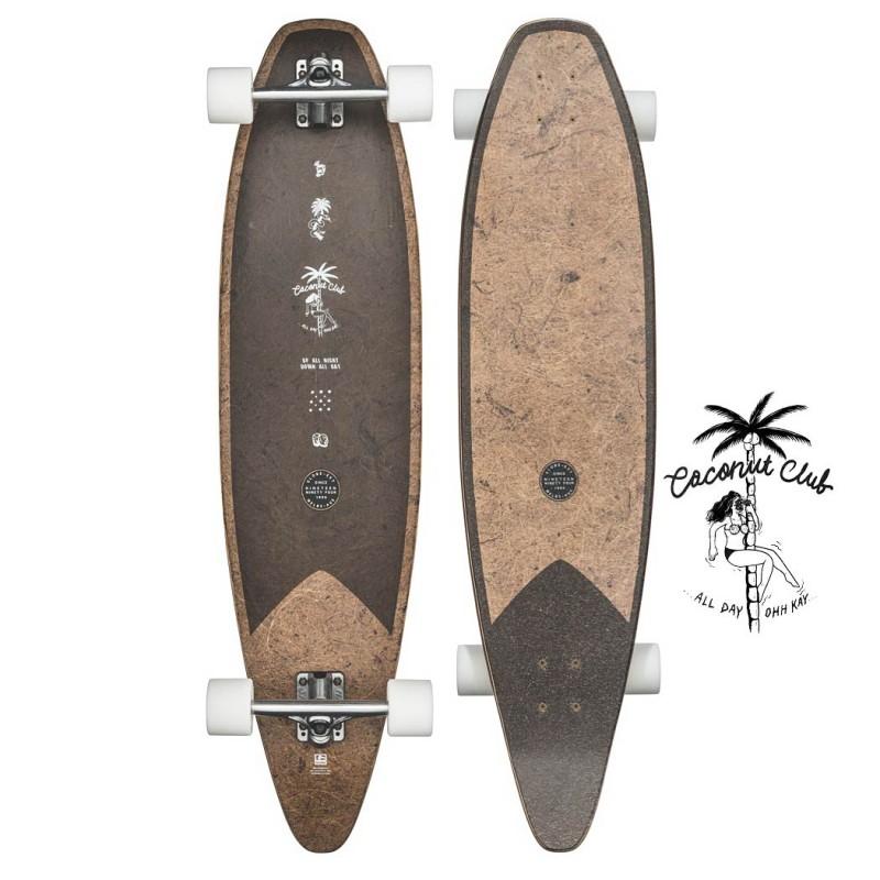 Globe Pinner Evo - Coconut Black (101 cm) Longboard