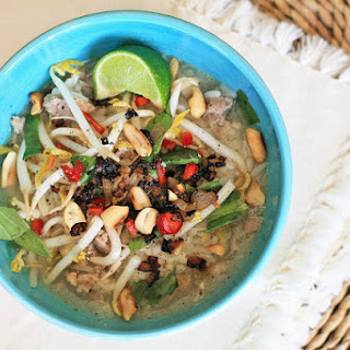 Babah- Cambodian Rice and Pork Soup.