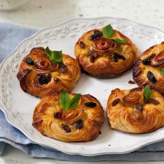 Cinnamon, Apple and Custard Danish Recipe