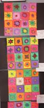 Photo: Kandinsky Style Flowers By Grade 5
