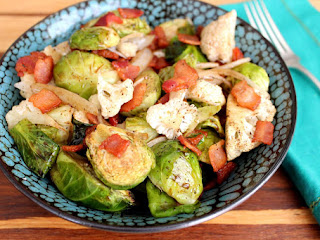 Roasted Brussels Sprouts And Cauliflower Recipe