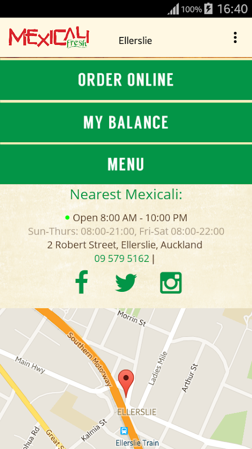 Mexicali Fresh- screenshot