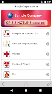 In Case of Crisis - Corporate- screenshot thumbnail
