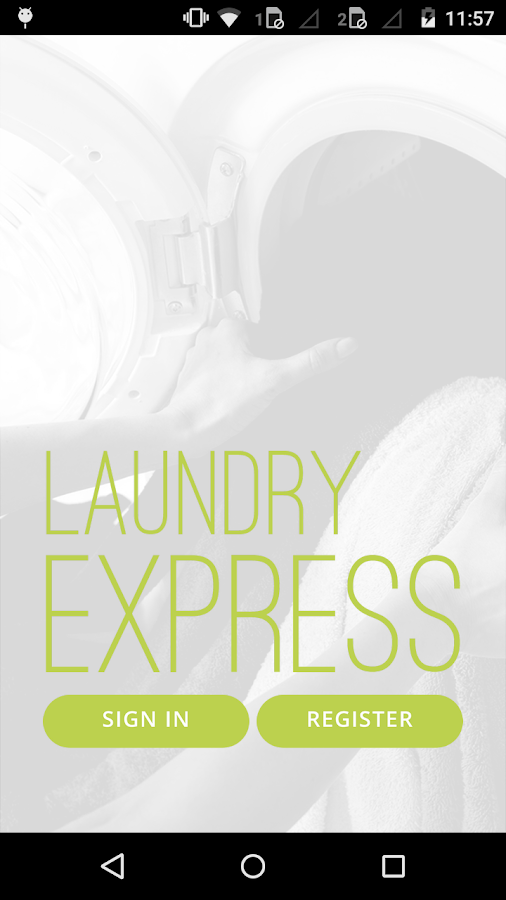 on demand Laundry- screenshot