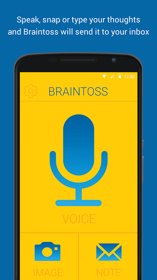 Braintoss- screenshot