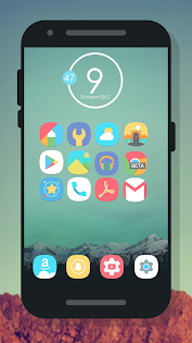 Ronio - Icon Pack App per Android screenshot