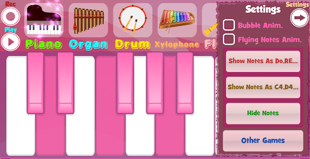 Game Pink Piano APK for Windows Phone