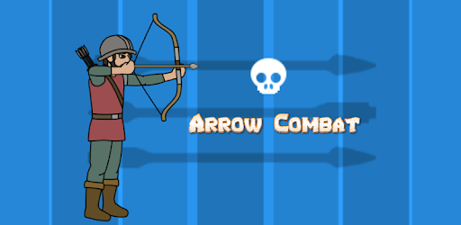 Medieval combat game with archer, spearman and slinger from towers.