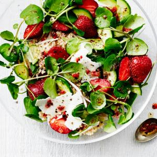 Strawberry, Quinoa, and Ricotta Salata Salad