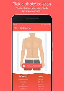 FitScanner - Body Fat Calculator - náhled
