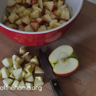 Cinnamon Apple Salad.