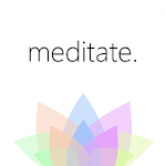Mindfulness: Guided Meditation for Stress, Anxiety Icon