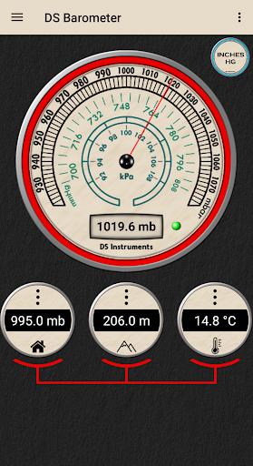 DS Barometer - Altimeter and Weather Information 3.75 screenshots 11
