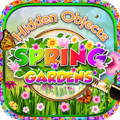 Hidden Objects Spring Gardens - Puzzle Object Game