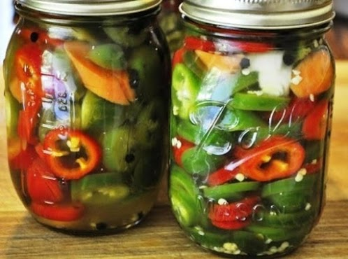 """Click Here for Recipe: Pickled Jalapeno Peppers """"Texas Pickles"""""""