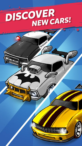 Merge Muscle Car: Classic American Muscle Merger apkpoly screenshots 12