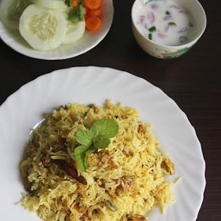 Egg Biryani Recipe   Egg Bhurji Biryani Recipe   Scrambled Egg Biryani Recipe