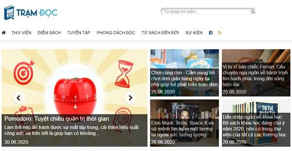 hình ảnh Top 3 trang web review sách chất lượng tốt nhất Việt Nam - số 2