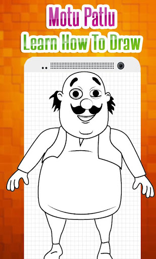 How To Draw Characters Of Motu Patlu Easy Steps Apk Download
