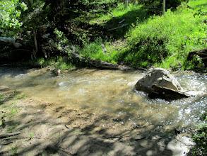Photo: Second stream crossing