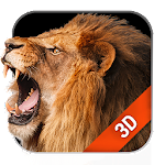 3D Live Wallpaper Lion Free Icon