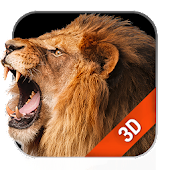 3D Live Wallpaper Lion Free