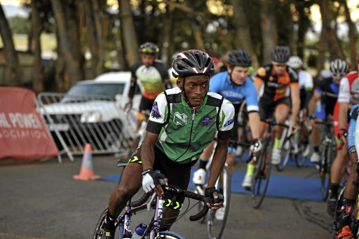Shining star: Vuyolwethu Nkomo, a pupil at Matthew Goniwe High School and a member of the Elite Development Cyclist Programme, is ready for the challenge. Picture: SUPPLIED