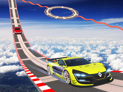 Car Fun Race Drive: Roues Mega Ramp Car Racing 3D  captures d'écran 2