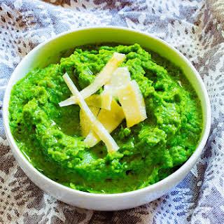 Super Green Pea Puree.