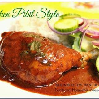 Pibil Style Chicken / Pollo Pibil